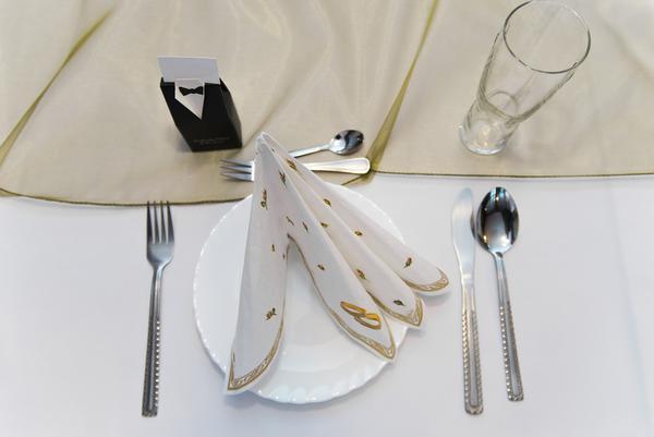 wizytówki na stół weselny