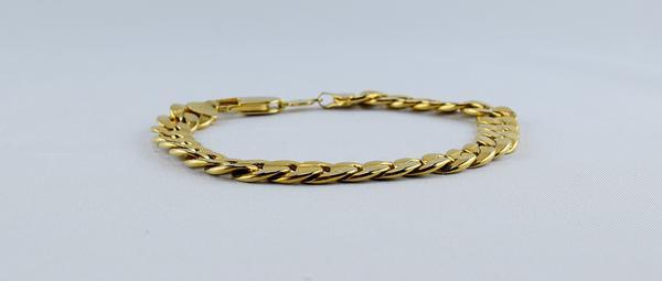 złote bransoletki męskie